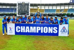 India Vs Srilanka Women Emerging Asia Cup Finals India Won By 14 Runs Duck Worth Lewis