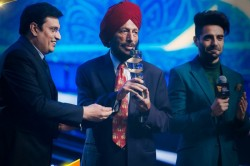 Indian Sports Honors Sports Personalities Including Milkha Singh Bumrah Mandhana Received Awards