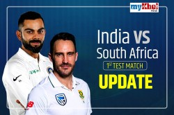 India Vs South Africa 1st Test Day 5 Live Cricket Score Commentary Updates South Africa Tour India