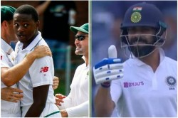India Vs South Africa Virat Kohli Gives Thumb Up To Kagiso Rabada S Overthrow See The Video