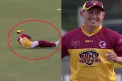 Australian Cricketer Marnus Labuschagne Loses His Pants During Marsh Cup