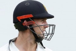 Angry Australian Cricketer Mitchell Marsh Punched On The Wall Broken Hand