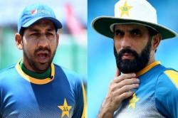 Pakistan Cricket Team Misbah Ul Haq Cricket Pcb Sarfraz Ahmed