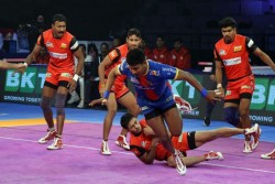 Pro Kabaddi League 2019 Season 7 Up Yoddha Finishes Leg With Win Over Bengaluru Bulls