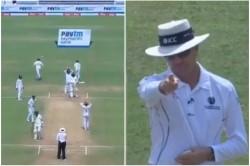 When Senuran Muthuswamy Surprised On Umpire S Lbw Decisson On Ravindra Jadeja Ball Watch