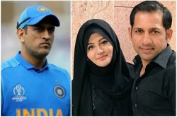 On The Question Of Sarfaraz S Retirement His Wife Said Dhoni Is Still Playing