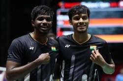 Satwiksairaj Rankireddy Chirag Shetty First Indian Men S Doubles Pair Reached World Tour 750 Final