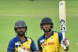 Vijay Hazare Trophy 2019 Sharukh Khan Hallf Century Helps Tamilnadu To Advance Finals
