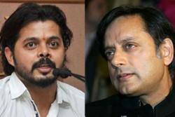 When S Sreesanth Get Into Fight Over Sanju Samon With Congress Mla Shashi Tharoor