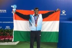 World Military Games Sriram Balaji S Impressive Bronze In Slow Court In Men S Singles