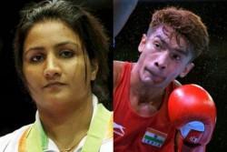 Tokyo 2020 Boxing Test Event Pooja Rani Shiva Thapa Ashish Reach In To Finals