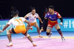 Pro Kabaddi League 2019 Up Yoddha Secure Victory Over Puneri Paltan
