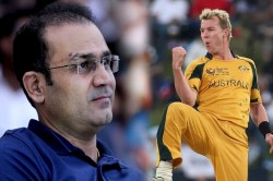 Virender Sehwag Wants To Thrash Brett Lee In Upcoming Road Safety World Series League T20 Tournament