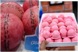 Ind Vs Ban Day Night Test Kolkata S Sweets Go Pink Sourav Ganguly Shares Pictures