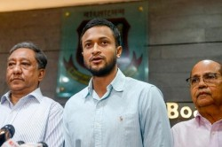 Ind Vs Ban Shakib Al Hasan Is Said To Enter In Kolkata While Pink Ball Test Goes On