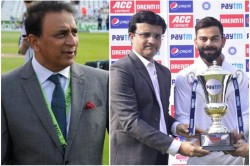 Virat Kohli Praised Sourav Ganguly Sunil Gavaskar Took A Dig At It