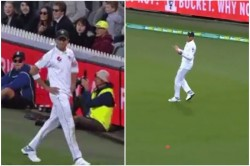 Aus Vs Pak Shaheen Afridi Missed To Pick The Pink Ball Thrice During Fielding Watch