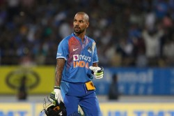 Injured Shikhar Dhawan Ruled Out From T 20 Series Vs West Indies Sanju Samson Replaces Him Report