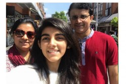 Day Night Test Sourav Ganguly Posted A Photo Trolled By His Daughter Sana Then Banter Goes Viral