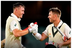 Aus Vs Pak Warner Hits Double Century Creates New Pink Ball Test Record With Labuschagne