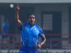 Syed Mushtaq Ali Trophy First Semifinal Abhimanyu Mithun 5 Wickets In 6 Balls Creates History