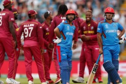 Afghanistan Vs West Indies 1st Odi Match Summary Shai Hope Roston Chase Lead Wi Win By 7 Wickets