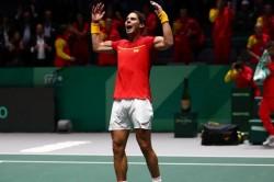 Rafael Nadal Beat Karen Khachanov Davis Cup Tennis