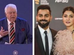 Farokh Engineer On Virat Kohli Depression Comments Former Indian Cricketer Anushka Sharma Beautiful