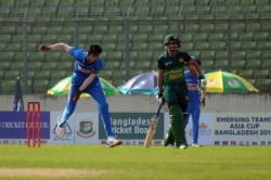 Acc Emerging Teams Asia Cup 2019 Pakistan Vs India Pakistan Defeated India Won By 3 Runs