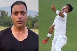 Shoaib Akhtar Said Naseem Shah Is A Good Bowler But Age Not Short