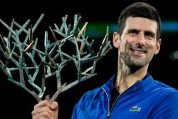 Novak Djokovic Secure Fifth Paris Masters Title Beats Denis Shapovalov To Won Title