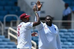 Afghanistan Vs West Indies Only Test Rahkeem Cornwall Take Seven Wickets