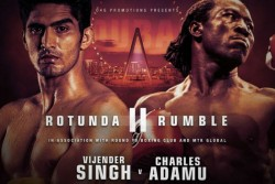 Vijender Singh Claims 12th Successive Win Beats Knock Out King Charles Adamu