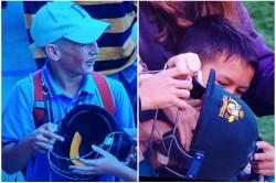 David Warner Gifts Kid Helmet But Older Boys Snatch It Away Video Viral