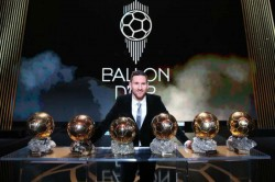Lionel Messi Wins Sixth Ballon D Or Moves One Ahead Of Old Rival Cristiano Ronaldo