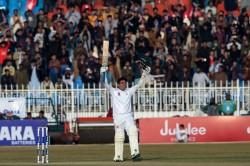 Pak Vs Sl Abid Ali Created History In Rain Affected Draw Match Babar Azam Made Century