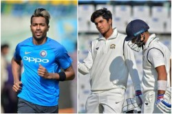 Hardik Pandya Comeback In India A Squad For The New Zealand Tour