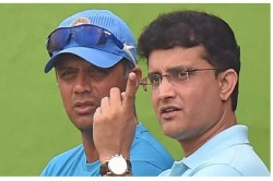 Sourav Ganguly Rahul Dravid Ravi Shastri And Jay Shah Meeting On Nca Matter