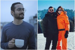 Virat Anushka Went To Switzerland On New Year Vacations Bhuan Bam Trolled Them In His Cool Way