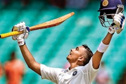 Ranji Trophy 2019 Prithvi Shaw Scores First Class Double Century In Just 176 Ball