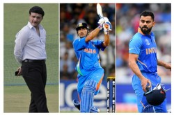 Ganguly Says Kohli Must Know About Dhoni Plan Also Mention A Hole In Indian T 20 Team