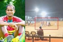 Indian Footballers R Dhanarajan Dies During A Match In Kerala