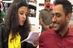 Sakshi Could Not Speak Even After Seeing Dhoni Mocked By Sharing Video
