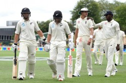 nd Test Draw New Zealand Won The Series By 1 0 From England