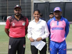 Gs Laxmi Set To Create History In Icc World Cup League 2 Become First Woman To Referee A Men Odi
