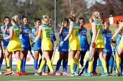 India Junior Women S Hockey Team Draw 1 1 Against Australia