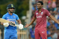 st Odi India Vs West Indies Slow Over Rate Causes 80 Percent Match Fees As Fine For Windies Players