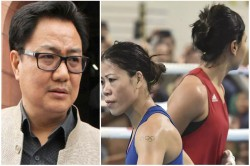 Kiren Rijiju Statement Came Out On Fight Between Mary Kom And Nikhat