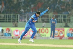 rd Odi India Vs West Indies Kuldeep Yadav 1 Wicket Away Fastest Spinner To Claim 100 Odi Wickets