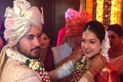 Manish Pandey And Ashrita Shetty Marriage Photos Viral On Social Media